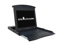 1U Rackmount LCD Monitor with Keyboard and KVM Option