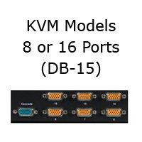 KVM Models with DB-15 Ports
