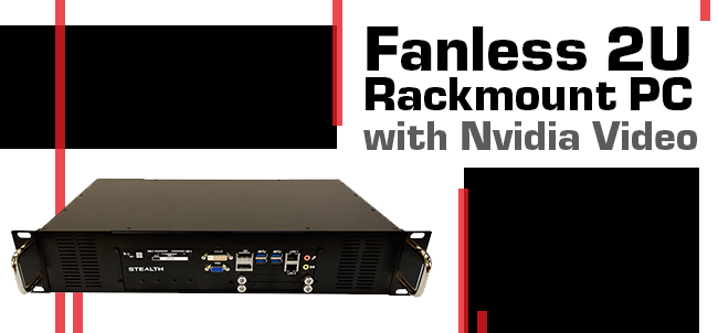 Stealth's LPC-950 - Fanless PC with Nvidia Video