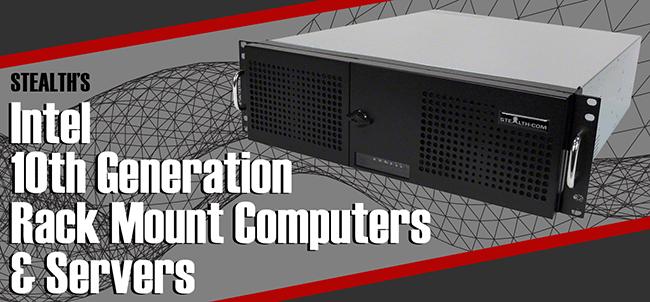 Industrial Rackmount Computers & Servers with Intel 10th Gen Processors